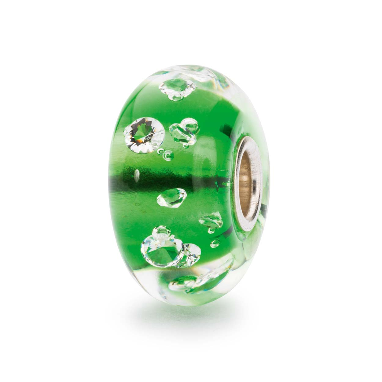 TGLBE-00075 The Diamond Bead Emerald Green a
