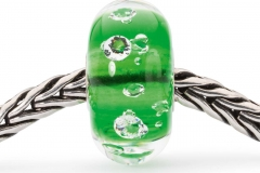 TGLBE-00075 The Diamond Bead Emerald Green chain